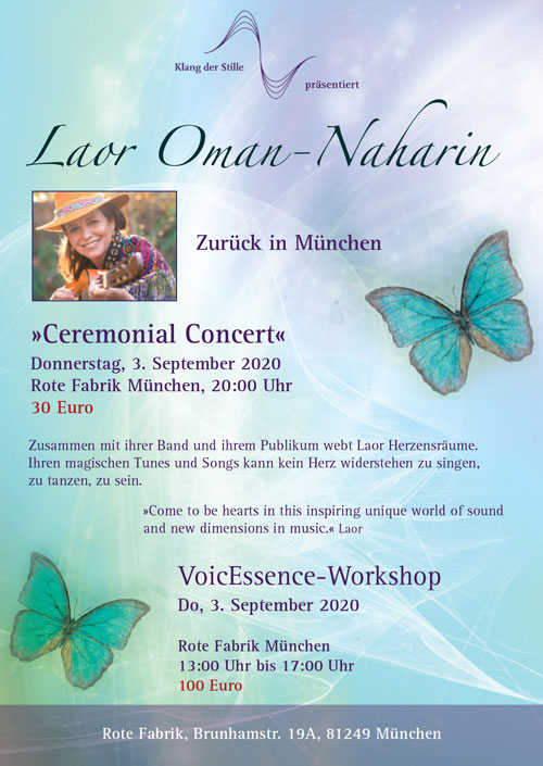 Ceremonial Concert & Workshop mit Laor Oman-Naharin
